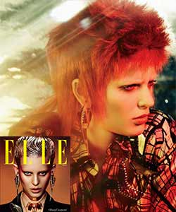 david bowie inspiration hairstyle
