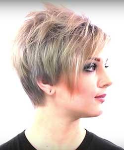 growing short hair