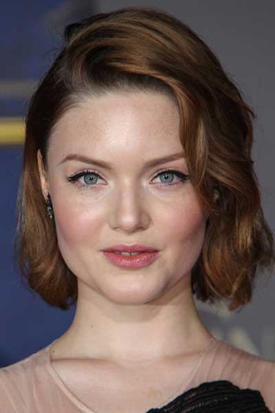 light brown hair color with blue eyes and fair skin