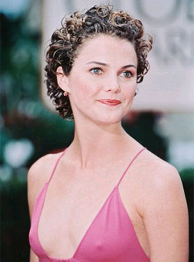 Keri Russell With Short Hair curly hair