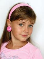 little girl medium length hair