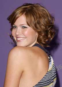 mandy moore hairstyle side view