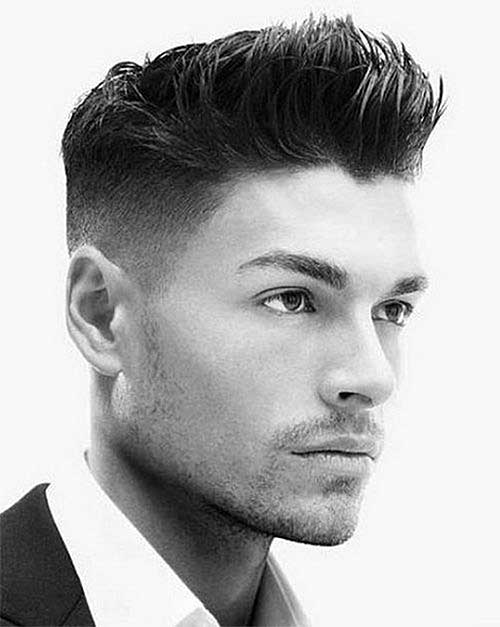 50s inspired undercut haircut