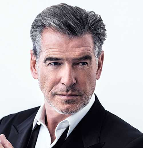 Should men cover up their grey hair?