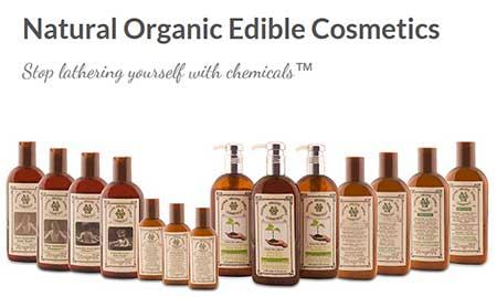 natural organic edible cosmetics