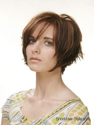 bob hair cut cut with razor
