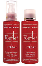 mahogany auburn color shampoo