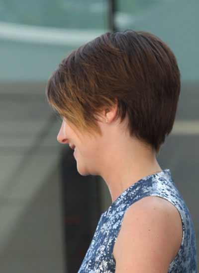 Shailene Woodley side view cute style