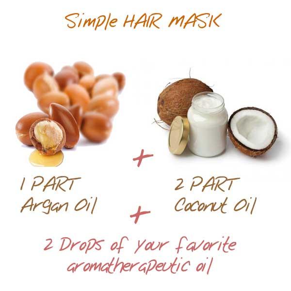 argon oil hair mark DIY