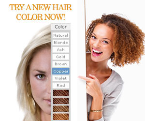try a new hair color online