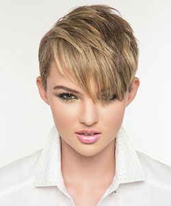 short and easy hair style