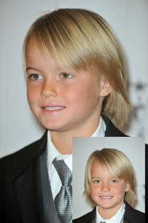 young boy hair style soft fine hair with side bangs