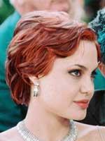 Angelina Jolie with Short Hair