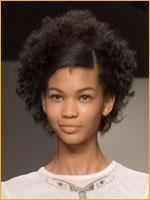 afro trendy hair