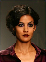 trendy hair from catwalk