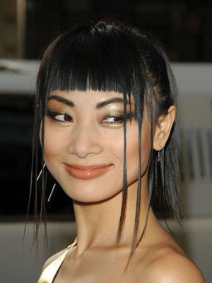 Cleopatra bangs style idea