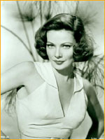 Gene Tierney with soft wave