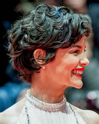 How Can I Style My Short Hair More Curly Like Audrey Tautou