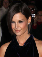 Katie Holmes with short bob hair style - Los Angeles Premiere 2008, CA