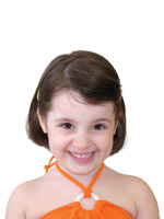 cute Kid Short Hair Style