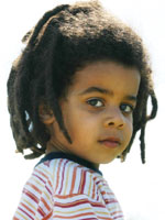 Kid with Afro Hair