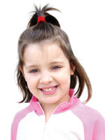 kids Simple Hair Style