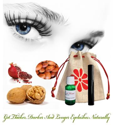 Natural Serum to Grow Eyelashes and Eyebrows Thicker