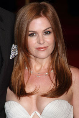 Isla Fisher with Red Brown