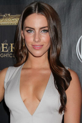 Jessica Lowndes with Dark Rich Brown and red highlights