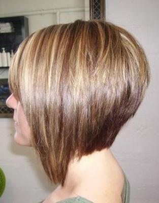 Very Nice Bob Hair Cut - Side View