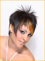 Go Funky With This Short Edgy Hair Cut