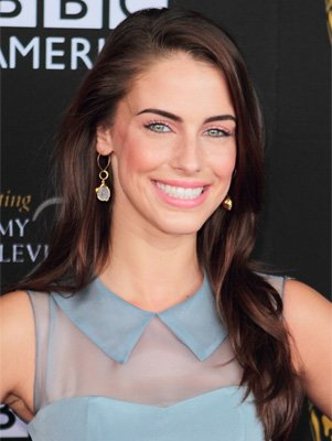 Jessica Lowndes - Brown hair color - Green Eyes