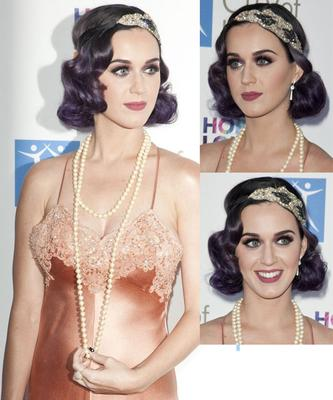 1920s Flapper Girl inspiration - Katy Perry June 2012