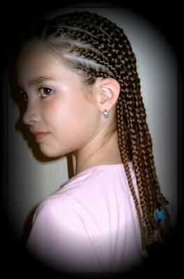hair braiding for kids