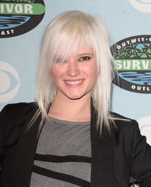 Courtney Yates - lightest blond