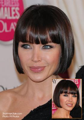 Short Sleek Bob Hairstyle
