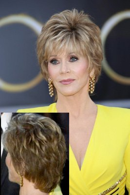 Shorter on back and side with more volume